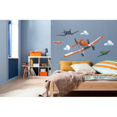 100 x 70cm Planes Dusty Mural