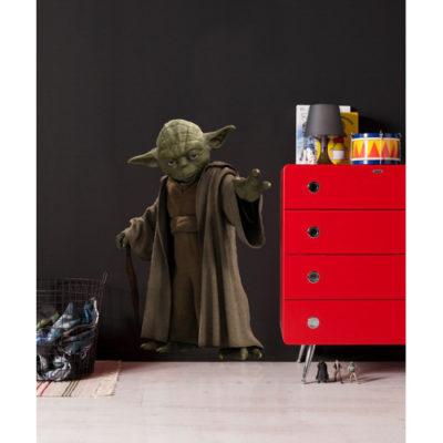 100 x 70cm Star Wars Yoda Mural