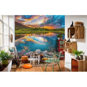 368 x 248cm Daybreak Mural