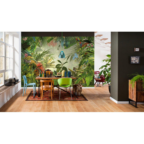 368 x 248cm Into The Wild Wall Mural