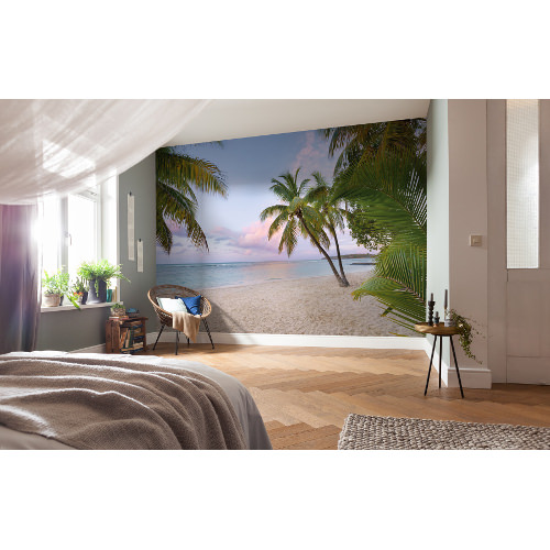 368 x 248cm Paradise Morning Mural
