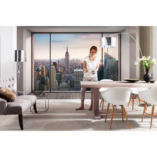 368 x 248cm Penthouse Mural