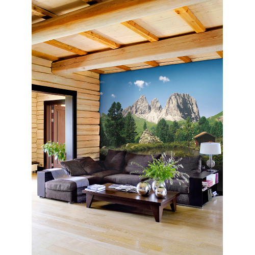 388 x 270cm Dolomiten Mural