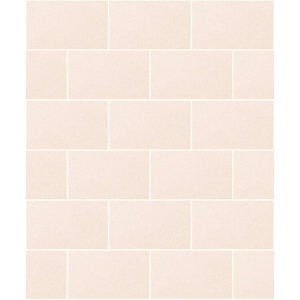 Crown Wallcoverings London Glitter Tile Wallpaper Champagne M1124 Sample