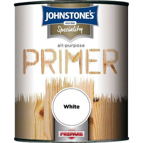 Johnstones Specialty Paints All Purpose Primer White 750ml