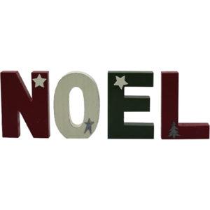 """Freestanding """"NOEL"""" Letters Sign"""