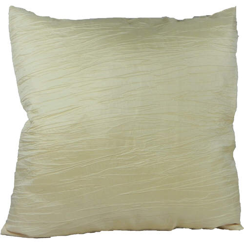 Cushion Cover Faux Taffeta Cream