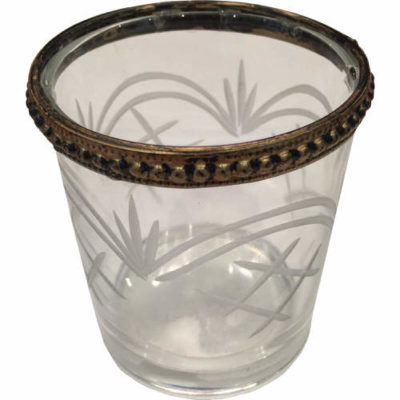 Decorated Etched Tealight Holder