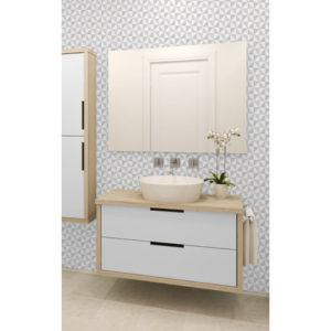 Ceramica Tiling Vinyl Wallpaper Geometric Glitter Silver FD41469 Sample