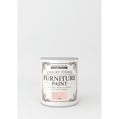 750ml Rustoleum Chalky Finish Furniture Paint Flat Matt Coral