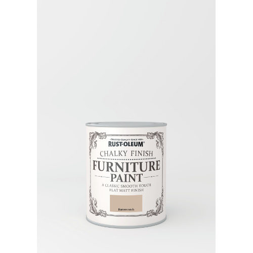 750ml Rustoleum Chalky Finish Furniture Paint Flat Matt Butterscotch