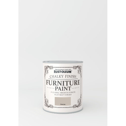 750ml Rustoleum Chalky Finish Furniture Paint Flat Matt Hessian