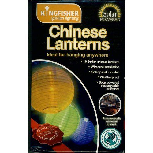 Kingfisher Chinese Lanterns Pack of 10