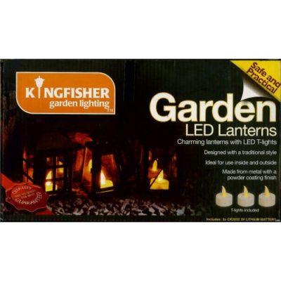 Kingfisher Garden LED Lanterns
