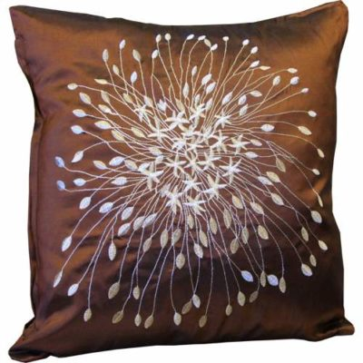Cushion Cover Starburst Chocolate