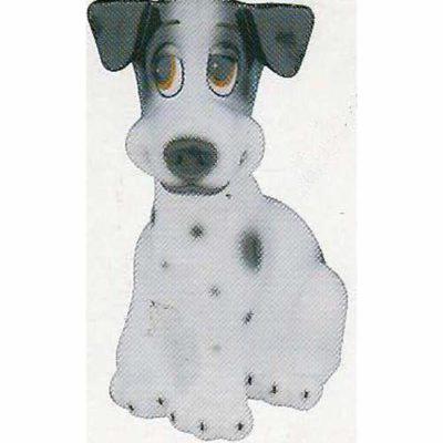 Comic Dog Alsatian