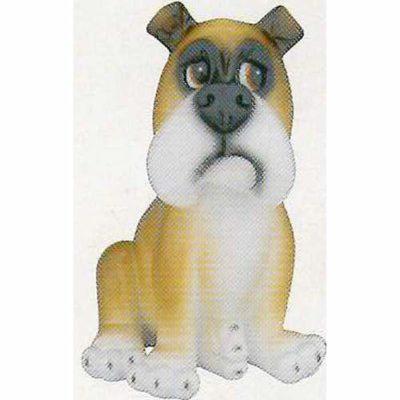 Comic Dog Bulldog