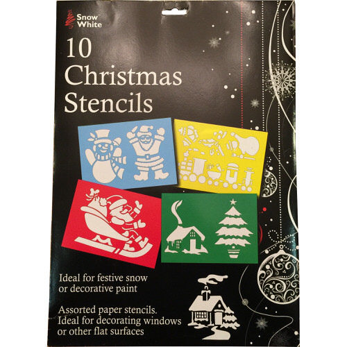 Christmas Stencils Pack of 10