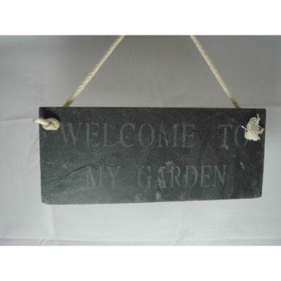 Landon Tyler Slate ÒWelcome To My GardenÓ