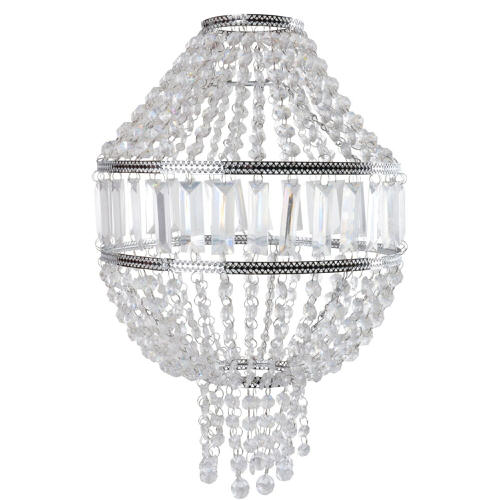 Country Club Georgia Easy Fit Jewelled Pendant Ceiling Light Lampshade