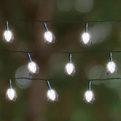 GardenKraft Flower Solar Line Lights Set of 10