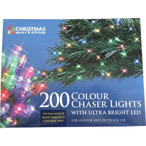 Colour Chaser Lights with Ultra Bright LED 200 Bulb
