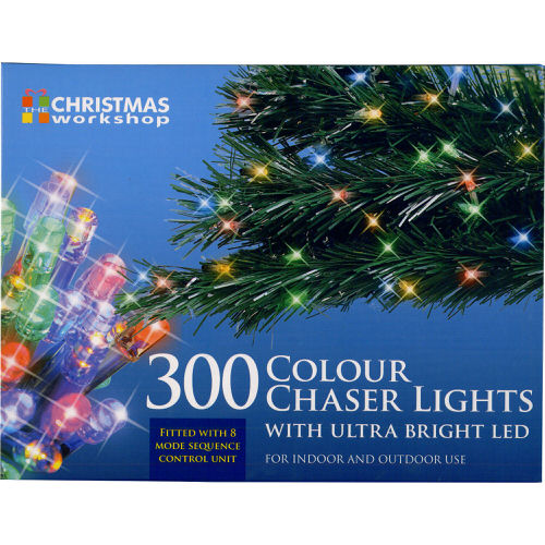 Colour Chaser Lights with Ultra Bright LED 300 Bulb