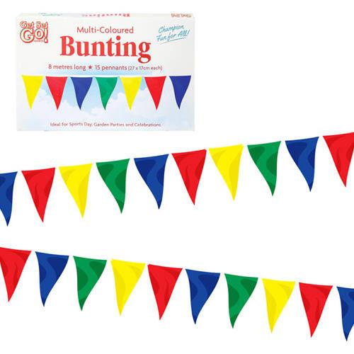 8m Multi-Coloured Bunting