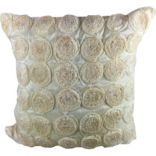 Cushion Cover Cream Rose
