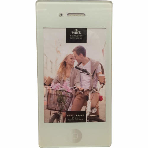Kensington iPhone Photo Frame in White