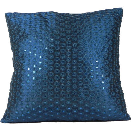 Cushion Cover Sequin Teal