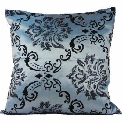 Cushion Cover Fleur-de-Lys Teal