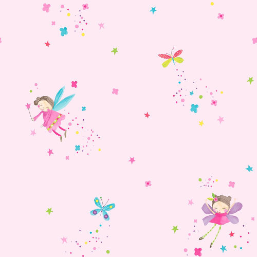 Arthouse Wallpaper Fairy Dust Pink 667100 Full Roll