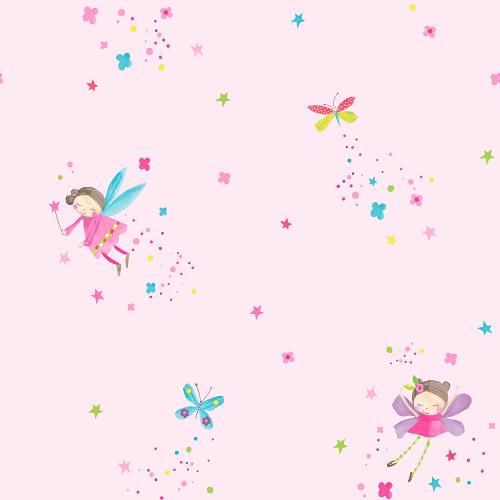 Arthouse Wallpaper Fairy Dust Pink 667100 Full Roll