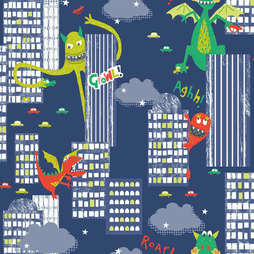 Arthouse Wallpaper Monster Mad Multi 667701 Full Roll