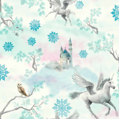 Arthouse Wallpaper Fairytale Ice Blue 667800 Full Roll
