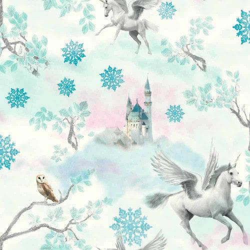 Arthouse Wallpaper Fairytale Ice Blue 667800 Full Roll