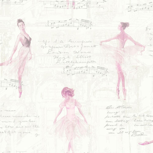 Arthouse Wallpaper Pirouette Pink 668200 Full Roll