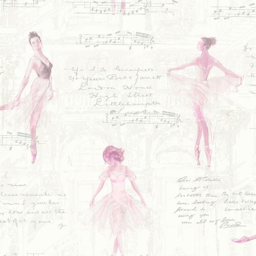 Arthouse Wallpaper Pirouette Pink 668200 Full Roll