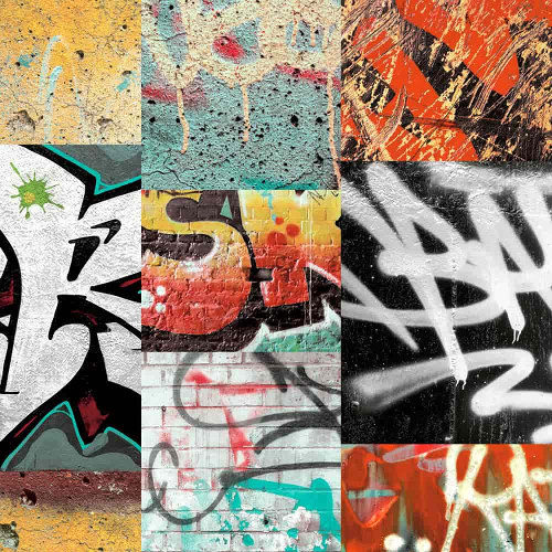 Arthouse Wallpaper Graffiti Red 668301 Full Roll