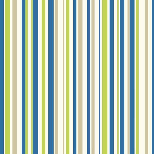 Arthouse Wallpaper Earn Stripes Blue & Green 668700 Full Roll