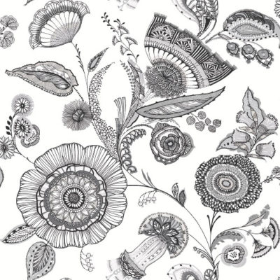 Arthouse Wallpaper Catarina Black & White 690800 Full Roll