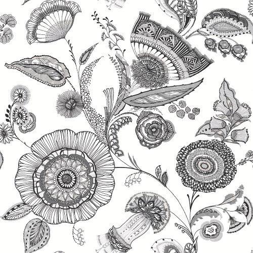 Arthouse Wallpaper Catarina Black & White 690800 Full Roll