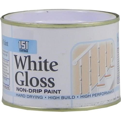 151 Non Drip Gloss White 180ml