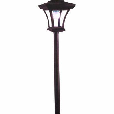 1.66m Dobbies Solar Garden Lamp Post