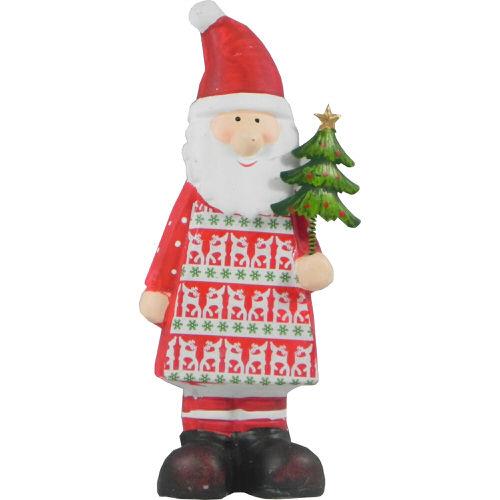 Christmas Santa with Star Decoration