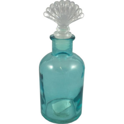 Glass Bottle with Shell Stopper