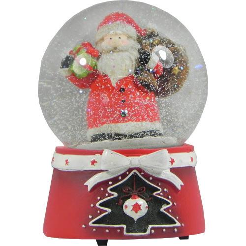Christmas Snow Globe with Santa