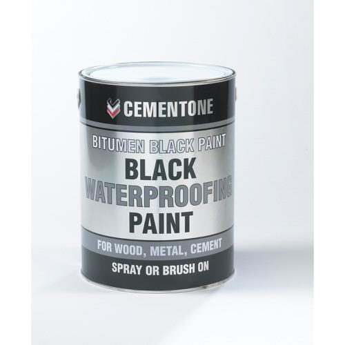 Bostik Aquamac Bitumen Paint Black 1 Litre