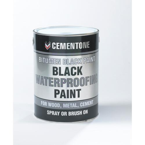 Bostik Aquamac Bitumen Paint Black 1 Litre